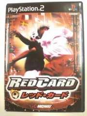 (PS2)レッドカード☆ラフプレイやりたい放題バカサッカーゲーム洋ゲー即決アリ