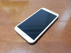 即落/即発!!美中古品 SC-02E Galaxy Note 2 ホワイト