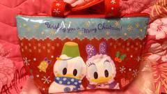 TDL購入☆ディズニーランド☆クリスマスファンタジー☆ランチバッグ☆ドナルド新品