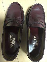 新品未使用ハルタHARUTA、ローファー、22cm、通学、通勤、学生靴