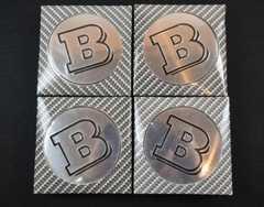 互換品 ベンツ Bロゴホイールセンターキャップ 4個