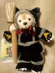 ディズニーTDS2009ダッフィーぬいぐるみバッチ黒猫初版