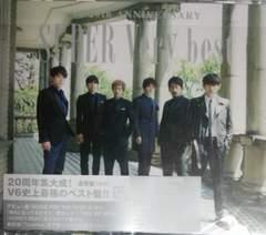 V6 ベスト盤SUPER Very best 通常盤★トニセンカミセン★20周年