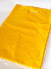 〈サフランイエロー〉ハード型ビニールバッグ(40枚)Lサイズ