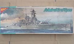 1/500 ニチモ(日本模型)ドイツ海軍 ポケット戦艦アドミラル グラフ シュペー