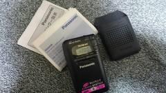 パナソニック携帯ラジオ(AM-FM)