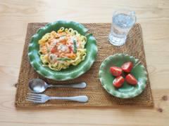 ロータスリーフトレイ★蓮葉皿 セラミック製★電子レンジOK アジアン 和食 洋食