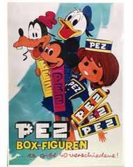 ディズニー PEZ★ペッツ ポスター B4サイズ