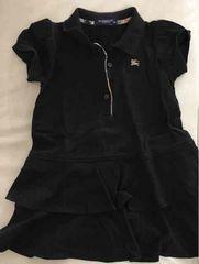 【バーバリー】子供服ベビー服  ワンピース90