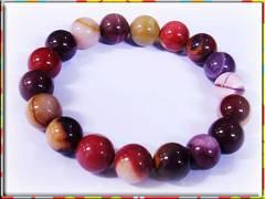 ■≪天然石・オリジナルブレスレット≫蛋黄石■13