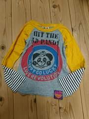 ラブレボ☆Get TheパンディレイヤードロングTシャツ/ロンT☆110*美品