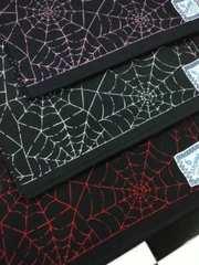 新品◆バンダナ�B枚セット◆(蜘蛛の巣柄)◆punk系◆Gothic系◆