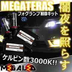 mLED】ランドクルーザー100中期/フォグランプHIDキット/HB4/3000K