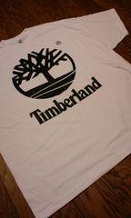 LA直輸入!TimberLandティンバーランド白黒プリ Tシャツ  サイズXXL2XL