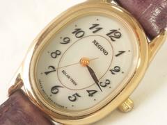 10519/シチズンREGUNOレグノ素敵なオーバル型レディース腕時計ソーラー充電式