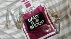 BabySHOOP 「No.1」トップス  Tシャツ(長袖)ボーダー