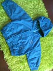 ●オシュコシュ● 中綿入フード付ジャンパー 75