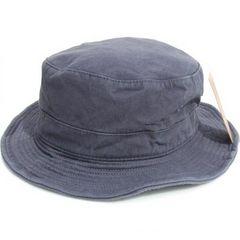 新品♪無地 ワイヤーバケット ハット*グレー*帽子*