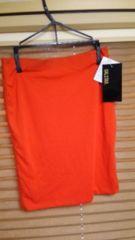 新品♪GALSTAR☆ギャルスター♪オレンジタイトスカート