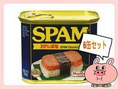 大人気簡単調理スパム【大】6缶セット/スパムポーク