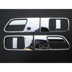 日産 クロームメッキ鏡面ドアハンドルカバー エルグランド E51