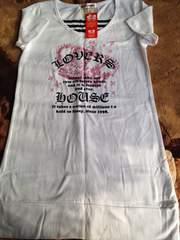 (^∇^)新品*ラバーズハウス*ロング半袖Tシャツ*150cm*
