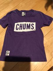 チャムス、CHUMSの半袖Tシャツ。kidsL。