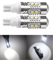 T10球LED 5Wx10発 ホワイト 2個セット