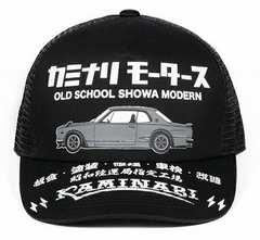 カミナリ雷/ハコスカGTR/メッシュキャップ/kmc-800/エフ商会/テッドマン/カミナリモータース