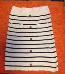 かわいいボーダースカート(^ω^)