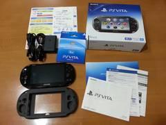 PS VITA ブラック 新古品 メモリーカード付き(8GB)+α