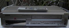 三菱/DJ-V210::VHS/DVDプレーヤ,一体型中古完動品!!