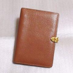 グッチ/Gucciボールペン付き型押し革製手帳