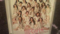 激安!超レア!☆E-Girls/One Two Three☆初回限定盤/CD+DVD美品!