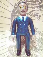 希少【マーミット】ウルトラセブン『ロボット長官』ソフビ人形 美品