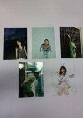 新品☆AKB48大島優子ちゃん♪L版写真5枚