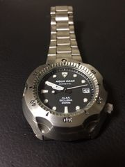 CASIO 動作確認済み ALBA 腕時計 AQUA GEAR SCUBA 200m 美品