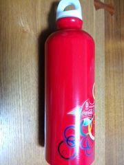 北京オリンピック メモリアル アルミボトル 当選品 コカコーラ