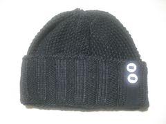 wb694 ROXY ロキシー ニット帽 ビーニー 黒
