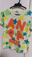 ANAP Kids☆カラフル☆柄半袖Tシャツ 120 男女OK