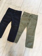 H&M パンツ 2枚セット 98cm エイチアンドエム アジャスター付き