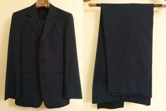 Paul Smith スーツ ポールスミス Mサイズ シングル 紺 ネイビー ノータック