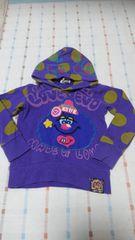 ラブレボ♪紫フード付きトレーナー♪110�p