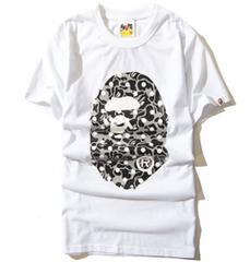 ape 半袖Tシャツ XL  白 エイプbigmonkey a bathing ape