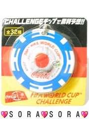 【2006 FIFA WORLD CUP】チャレンジチップメダルキーホルダーJAPAN