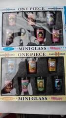 新品☆ONE PIECEワンピース♪(パンソンワークス)グラス2種再々々々々値下