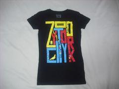 wr493 女 ZOO YORK ズーヨーク 黒 半袖Tシャツ Sサイズ