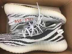yeezy boost  350 v2 zebra US10