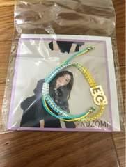 2017 E.G. EVOLUTION E-girls ミサンガ Flower 坂東希 写真 カード