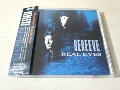 ビリーヴCD「REAL EYES」BEREEVE 男性デュオ 廃盤●